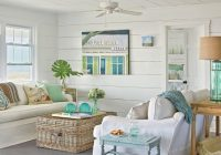 26 small cozy beach cottage style living room interior Beach Cabin Decorating Ideas