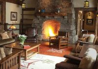 47 extremely cozy and rustic cabin style living rooms Log Cabin Living Room Furniture