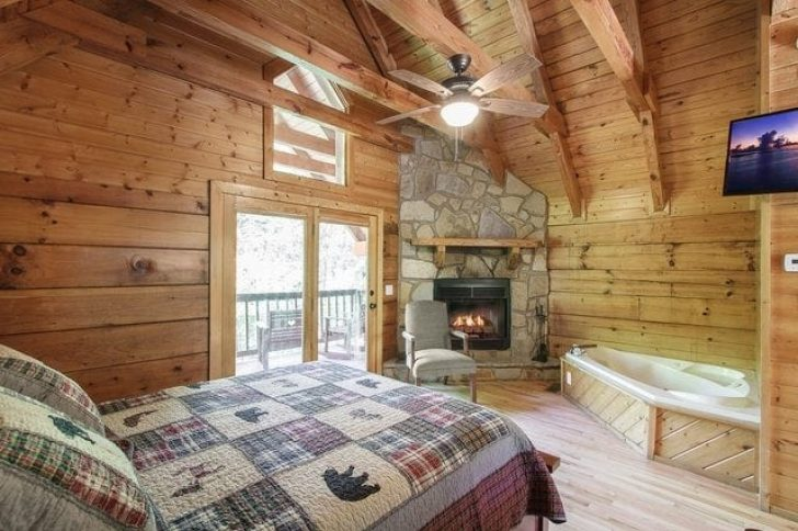 Permalink to Minimalist Romantic Log Cabin Getaways With Hot Tub Ideas
