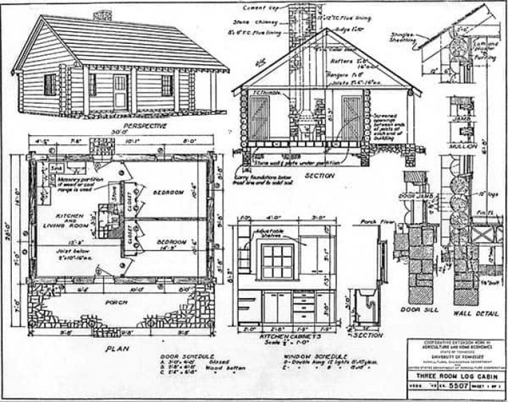 Permalink to Perfect Cabin Blueprints Gallery
