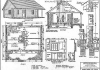 52 free diy cabin and tiny home blueprints diy cozy home Cabin Blueprints