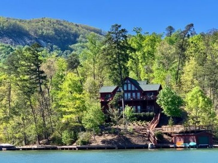 Permalink to Cozy Lake Cabin North Carolina Gallery