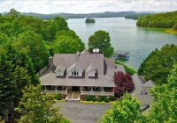 7 gorgeous lake front homes for sale in north georgia Lake Cabin Homes For Sale