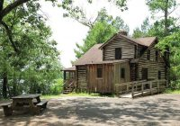 7 nj state parks where you can rent a cabin right now Parvin State Park Cabins