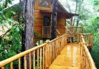 7 tree houses you can sleep in treehouse cottages Treehouse Cabins Arkansas