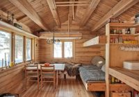 a 118 sq ft cabin in norway the home is totally off grid Small Off Grid Cabin Interior
