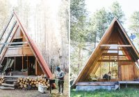 a brief history of the a frame boutiquehomes modern A Frame Cabin