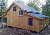 a frame cabin kit timber frame home kit post and beam 24×30 Shed Roof Cabin Ideas