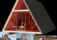 a frame cabin plans dolores Small A Frame Cabin