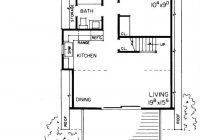 a frame home plan 1 bedrms 1 baths 810 sq ft 137 1744 A Frame Cabin Floor Plans