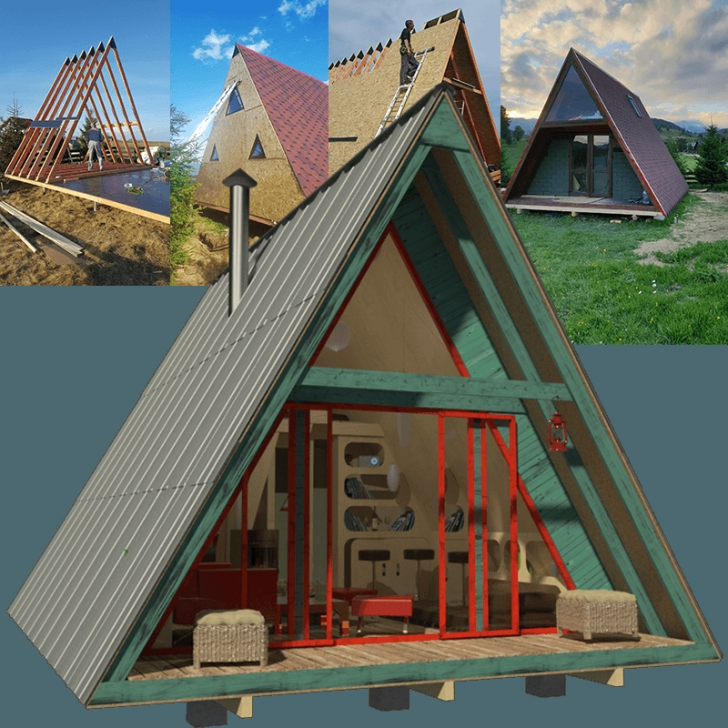 Permalink to Elegant Small A Frame Cabin Plans