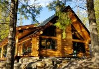 a serene lake front cabin minutes from west glacier national park columbia falls Cabins In Glacier National Park