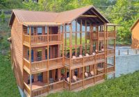 a view from above video walk through Cottage Cabin Rental Tennessee