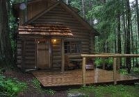 a welcoming entrance picture of deep forest cabins at mt Deep Forest Cabins At Mt Rainier