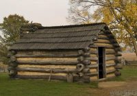 abraham lincoln born crude log cabin kentucky bestofhouse Abe Lincoln Cabin