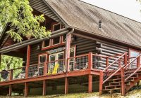 amazing waterfront cabin on the caddo river in hot springs Caddo River Cabins