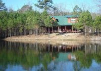 antler cabin at broken bow lake okla has cablesatellite Lake Cabin In Oklahoma