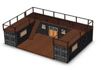 backcountry containers custom container homes Cabin Container House