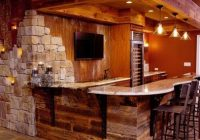 basement design ideas pictures remodels and decor rustic Cabin Bar Designs