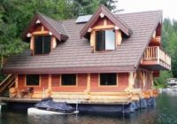 beautiful and luxurious lakeside log cabin cozy homes life Lakeside Cabin