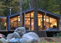 beautiful cabin pops up in ten days with minimal landscape Modular Cabins