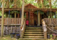 beautiful hidden cabins on the blackwater river in florida Florida Camping Cabins