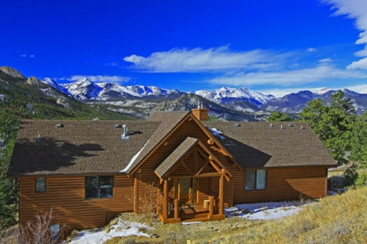 Permalink to Simple Rocky Mountains Cabins