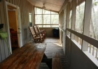 blue spring cabins have big screened porches places i Blue Springs Cabins