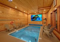 brand new luxury cabin with private indoor pool and theater Gatlinburg Cabins With Private Indoor Pools