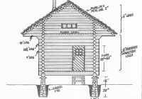 build a log cabin for 100 green homes mother earth news Log Cabin Building Plans