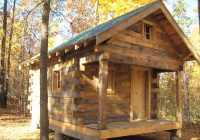 build a log cabin without spending a fortune small log Mini Log Cabin Ideas