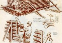 build your own tiny log cabin Log Cabin Building Plans