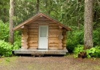 building your own tiny log cabin in the woods Log Cabin Small