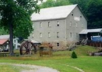 burnt cabins grist mill the alleghenies group tour photos Burnt Cabins Grist Mill