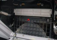 cabin air filter w install Prius Cabin Filter