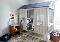 cabin bed jen woodhouse ana white Cottage Cabin Bed