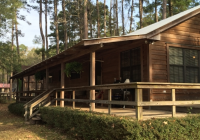 cabin in the woods on the lake toledo bend lake vacation Toledo Bend Cabins