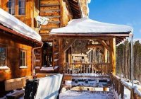 cabins exterior nice hot tub cabin snow cabin mountain Cabin Cottage With Hot Tub