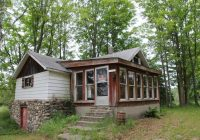 cabins on private lake for sale with 87 acres in onaway mi Lake Cabin Michigan For Sale