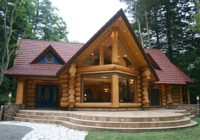 canadian built home wins best log home in japan country living Canadian Log Cabin