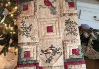 cardinal log cabin quilt log cabin quilt blocks christmas Examples Of Log Cabin Quilts
