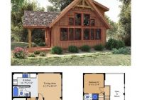 cedarrun woodhouse the timber frame company cabin plans Small Cabin With Loft Plans