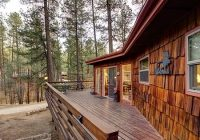 cedarside cabin retreat in the pines with hot tub pet Ruidoso Cabins Pet Friendly
