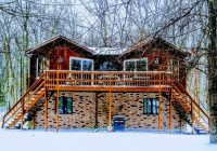 centrally located pet friendly cozy pocono mountain cabin Cabins In Poconos