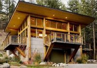 charles hudson the best gear for home and away modern Modern Log Cabin Kits
