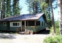 charming beachfront cabin rental with on seeley lake montana Seeley Lake Cabins