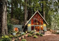 charming mid century cabin rental overlooking austin creek in california Cabins Near Austin