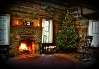 christmas cabin at hidden hollows interior christmas is Beautiful Christmas Cabin Interiors