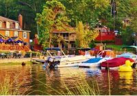 come and dine at nicks lakehouse in the poconos pocono Lake Cabin Poconos