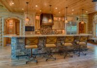 cool swivel bar stools with backsin kitchen rustic with Bar Stools For A Log Cabin